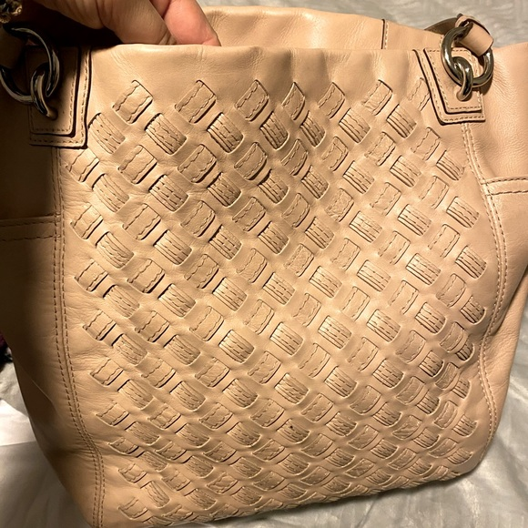 Coach tote bag north south woven
